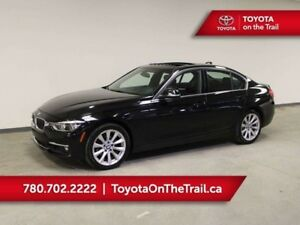 2016 BMW 3 Series 328xi; SUNROOF, AWD, NAV, WINTER TIRES, HEATED