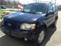 2006 FORD ESCAPE LIMITES***CUIR+TOIT+MAGS+AWD+3900$***