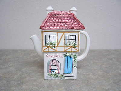 Ceramic Pottery Rainbowman Candy Store Teapot