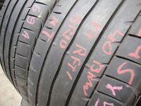 245/40/19 Bridgestone Turanza ER300, Runflat, BMW x2 A Pair, 5.6mm (168 High Road, Romford, RM6 6LU)