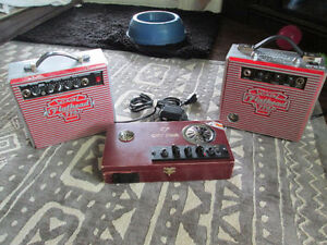 SPECIALTY MADE CIGAR BOX AMPS