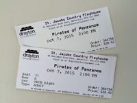 Pair of tickets - St. Jacobs Country Playhouse - Wed., Oct. 7
