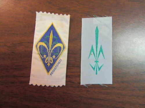 Belgium Lot of 2 Boy Scout Patches      eb25