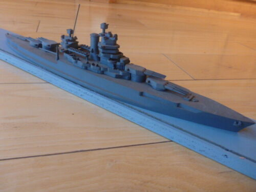 USS NEW MEXICO SOUTH SALEM STUDIOS WWII Recognition Ship Model 1:500 SCALE