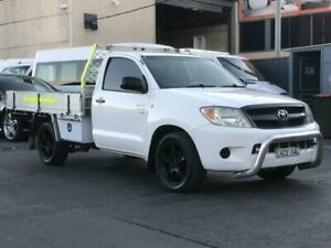 2005 Toyota Hilux GGN15R SR White 4 Speed Automatic Cab Chassis Revesby Bankstown Area Preview