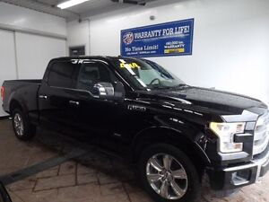2016 Ford F-150 PLATINUM 4x4 LEATHER NAVI SUNROOF