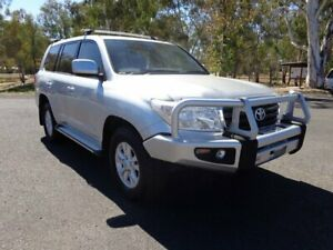 2011 Toyota Landcruiser VDJ200R 09 Upgrade GXL (4x4) Silver Pearl 6 Speed Automatic Wagon Roma Roma Area Preview