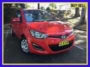 2013 Hyundai i20 PB Active Red Automatic Hatchback Lansvale Liverpool Area Preview