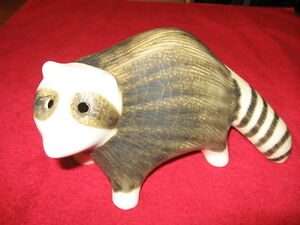 Strawberry Hill Pottery Vintage Collectible Racoon