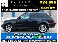 2009 Range Rover SUPERCHARGED $349 bi-weekly APPLY NOW DRIVE NOW