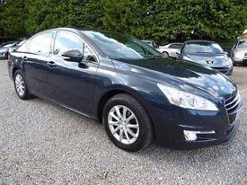 Peugeot 508 1.6 HDI FAP SR, Amazing 70+ MPG Diesel Economy, Luxury Family Car, High Spec, Long MOT