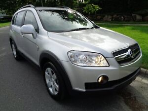 2009 Holden Captiva CG MY10 CX (4x4) Silver Metallic 5 Speed Automatic Wagon Chermside Brisbane North East Preview