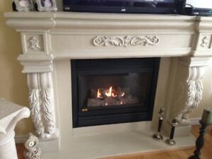 Super 30 Off 300 Cashback Stone Fireplace Mantel Mantle N