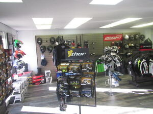Year end clear out,  Motocycle Helmets, Riding Gear and Apparel!
