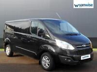 2014 Ford Transit Custom 2.2 TDCi 125ps Low Roof Limited Van Diesel black Manual