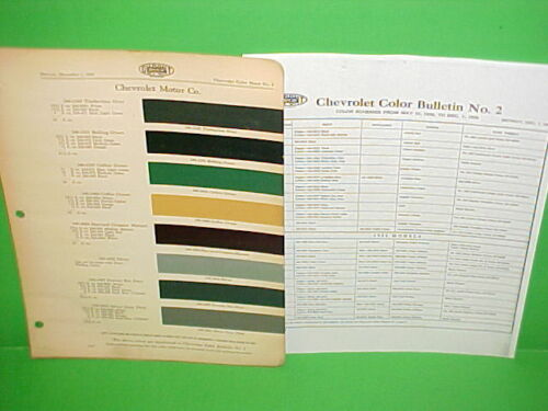 1930 1931 CHEVROLET CAR TOURING SPORT ROADSTER CABRIOLET COUPE SEDAN PAINT CHIPS