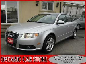 2008 Audi A4 AVANT 2.0T S-LINE QUATTRO !!!NO ACCIDENTS!!!