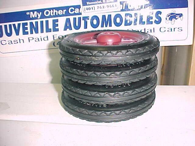 1934 38 Buddy L International Pressed Steel Toy Truck Tires Best American Tires