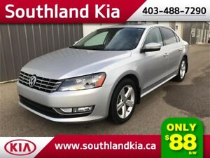 2014 VW Passat TDI DIESEL  **LEATHER-SUNROOF**
