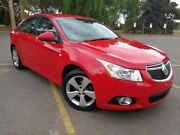 2014 Holden Cruze JH Series II MY14 Equipe Red 6 Speed Sports Automatic Sedan Elizabeth Playford Area Preview
