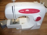 Brother Sewing MachineXL 2220 - Used Once White Instruction manuals, dust cover etc included