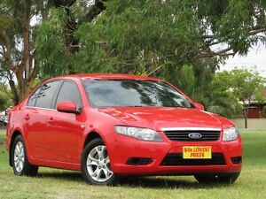 2009 Ford Falcon FG XT Red 4 Speed Sports Automatic Sedan Hendon Charles Sturt Area Preview