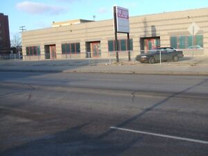 1950-8300 Industrial Strip Mall Roof Top AC OH Doors Parking +++