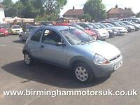 2007 (07 Reg) Ford Ka 1.3 STUDIO 3DR Hatchback BLUE + LOW MILES