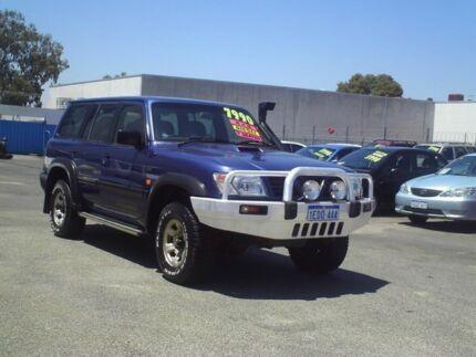1998 Nissan Patrol Blue Manual Wagon Embleton Bayswater Area Preview
