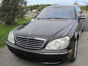 Mercedes  S-500    4 MATIC  version allongée