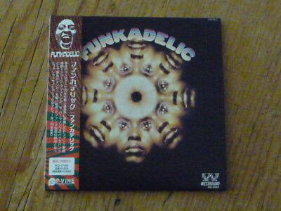 Funkadelic:s/t [1st] Japan Mini-LP CD PCD-17435 Mint (parliament p-funk bootsy Q
