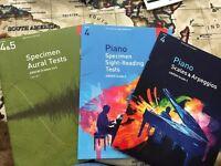 Piano books for Grade 4