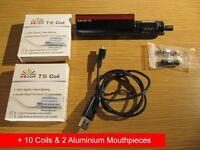 E-LIQUID VAPE Innokin Endura T22 MOD KIT + 10 COILS + 2 ALUMINIUM MOUTHPIECES