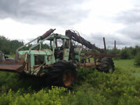 Tree farmer Skidder-porter for parts