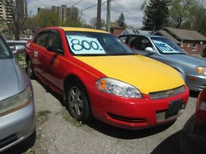2012 Chevrolet Impala X- Co-op Taxi!