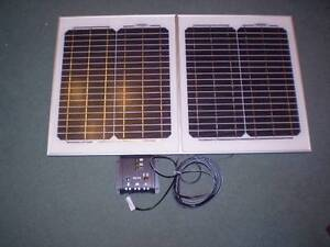 30W 12v LIGHTWEIGHT SOLAR POWER Battery Charge Kit Kenmore Brisbane North West Preview