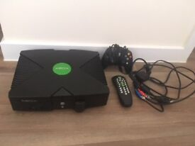 Original Xbox console - Console & leads