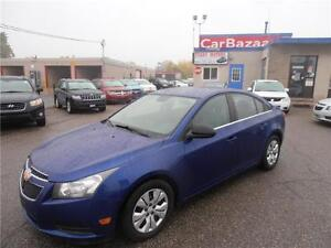 2012 CHEVROLET CRUZE LS Auto Air 4 Cyl GAS SAVER Easy Financing