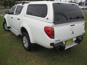 2013 Mitsubishi Triton MN MY12 GL-R (4x4) White 5 Speed Manual South Grafton Clarence Valley Preview
