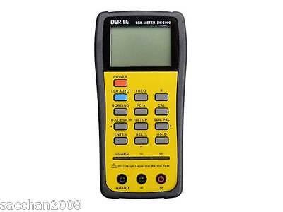Der Ee High Accuracy Handheld Lcr Meter De-5000 From Japan New