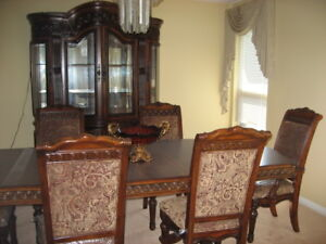 Brand new Hudson Dining Room Set with matching Furniture Set