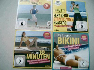 Fit für den Bikini Bauch Beine Po - richtig laufen - Kick Fit    4 DVDs neu