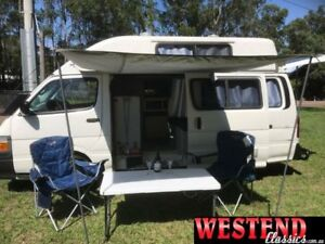1999 Toyota Hiace White Manual Van Lisarow Gosford Area Preview