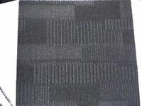 Used Black Carpet Tiles for sale