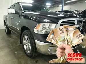 2015 Ram 1500 Big Horn BLACK ON BLACK | $138 Week