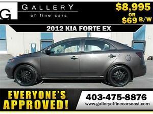 2012 Kia Forte EX $69 BI-WEEKLY APPLY NOW DRIVE NOW