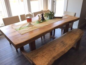 Custom Made Live Edge & Rustic Wood Furniture