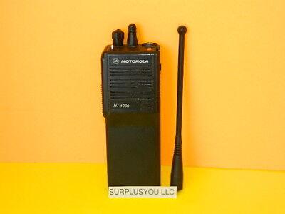 Motorola Ht1000 800mhz Radio Handie Talkie H01ucc6aa3dn 16-f Closed 3wquantity