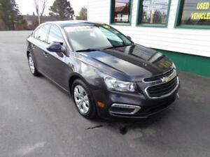 2016 Chevrolet Cruze Limited LT only $132 bi-weekly all in!