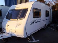 2007 Ace Jubilee Courier 6 Berth FIXED REAR BUNKS Inc an Awning.